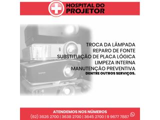 ASSISTÊNCIA TÉCNICA AUTORIZADA PROJETORES PARA TODO BRASIL